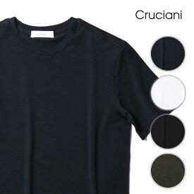 クルチアーニ Tシャツ クルーネック ストレッチ メンズ CRUCIANI 2020SS 春夏 新色 イタリア製 44/46/48/50/52 【送料無料】 【レ15】【あす楽対応】