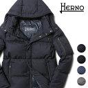 ヘルノ ダウンジャケット ブルゾン メンズ 20AW 秋冬 新作 スタンドカラー ショート丈 フード付き HERNO PI0653U MA-1…