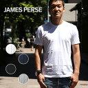 【全品10%offクーポン】ジェームスパース メンズ Tシャツ クルーネック 半袖 MLJ3311 カットソー JAMES PERSE アメリカ 【レ1000】