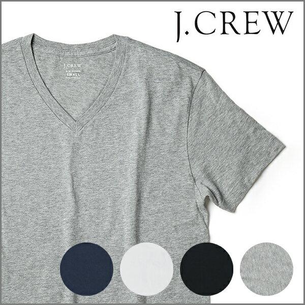 J.CREW メンズ Vネック Tシャツ 半袖 春夏 ジェークルー Jクルー ジェイクルー 【レ1000】JCREW