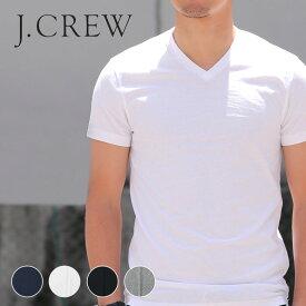 J.CREW メンズ Vネック Tシャツ 半袖 春夏 ジェークルー Jクルー ジェイクルーJCREW 【レ15】