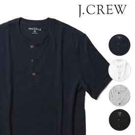 J.CREW メンズ ヘンリーネック Tシャツ 半袖 春夏 ジェークルー Jクルー ジェイクルー JCREW