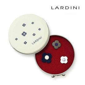 ラルディーニ ブートニエール ラペルピン 3個セット フラワー フラワーホール LARDINI メンズ イタリア製 【あす楽対応】