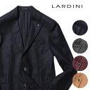 ラルディーニ ジャケット 20AW 秋冬 ウール ホップサック ツイード アンコンジャケット LARDINI SPECIAL L イタリア製…
