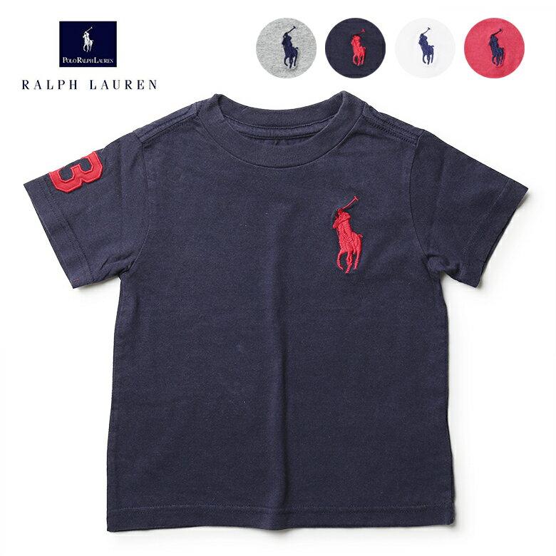 ラルフローレン Tシャツ キッズ ビッグポニー RALPH LAUREN 男の子用 女の子用 ボーイズ ガールズ 子供服 ポロ
