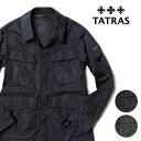 【5%OFFクーポンDAY】タトラス メンズ フィールドジャケット DIONISO 20SS サファリジャケット ナイロン ブルゾン ミ…