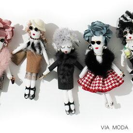 【最大25%OFF!!】バッグチャーム ドールチャーム 人形 キーホルダー ファーチャーム おしゃれ かわいい