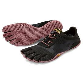ビブラム Vibram ファイブフィンガーズ レディース KSO EVO Black-Rose / ブラック-ローズ 18W0701 《五本指 シューズ FiveFingers ベアフット トレーニング インドア フィットネス ランニング ウォーキング 靴》