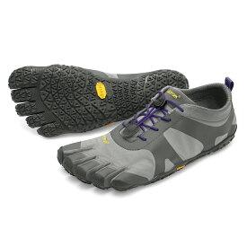 【店内全品ポイント5倍】ビブラム Vibram ファイブフィンガーズ レディース V-ALPHA Grey - Violet / グレイ- バイオレット 18W7103 《五本指 シューズ fivefingers ベアフット トレーニング ランニング 靴》