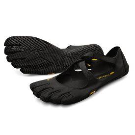 ビブラム Vibram ファイブフィンガーズ レディース V-SOUL Black / ブラック 18W7201 《五本指 シューズ fivefingers ベアフット トレーニング ランニング 靴》