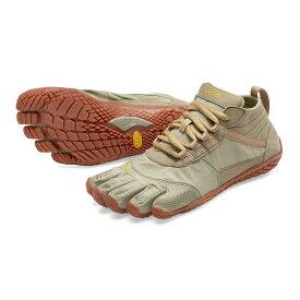 【お買い物マラソン限定30%OFF】ビブラム Vibram ファイブフィンガーズ レディース V-TREK Khaki - Gum / カーキ - ガム 18W7403 《五本指 シューズ fivefingers ベアフット トレーニング ランニング 靴》