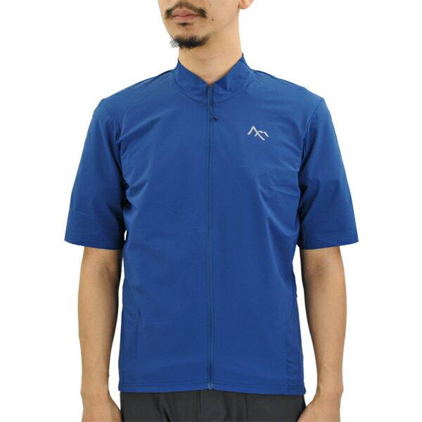 セブンメッシュ 7mesh S2S Shirt SS Mens 2 ball blue [S2S][シャツ][ショートスリーブ][メンズ][サイクルシャツ][ランディングシャツ][12/14 9:59まで ポイント10倍]