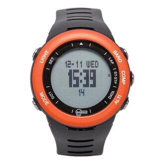 BARIGO 巴林戈利克斯,ES7 橙 / 黑 [時鐘] 和 [觀看] [氣壓高度計,指南針 [高度計]