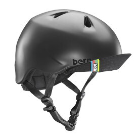 バーン Bern NINO(Visor付) Matte Black [キッズ][ヘルメット][自転車][子供用]