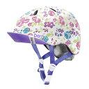 バーン Bern NINA(Visor付) Satin White Floral [キッズ][ヘルメット][女の子][子供用][5/29 9:59まで ポイント...
