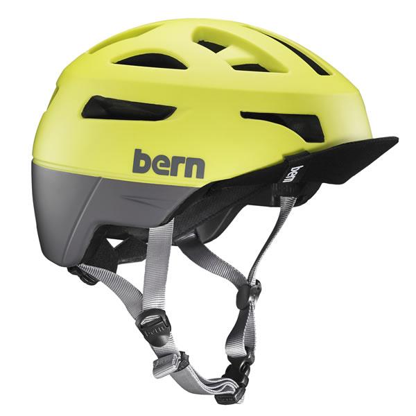 バーン Bern UNION Matte Neon Yellow [ヘルメット][ユニオン][自転車][バイク][スポーツ][メンズ][2017年モデル][1/26 13:59まで ポイント10倍]