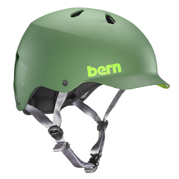 バーン Bern WATTS Matte Leaf Green [ヘルメット][ワッツ][自転車][バイク][スポーツ][メンズ][2/25 9:59まで ポイント10倍]