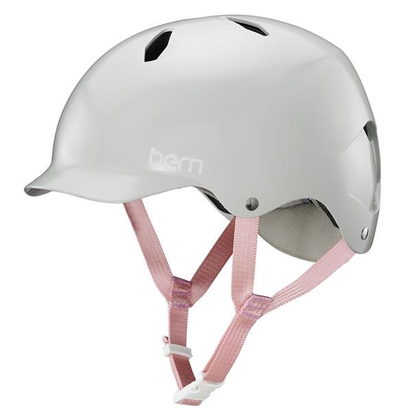バーン Bern BANDITA Satin Grey [ヘルメット][子供用][キッズ][ジュニア][バンディータ][自転車][バイク][スポーツ][12/17 9:59まで ポイント10倍]