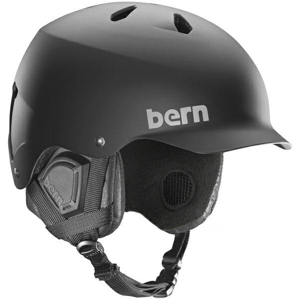 バーン Bern [Winter Model] WATTS Matte Black [ヘルメット][自転車][メンズ][1/26 13:59まで ポイント10倍]