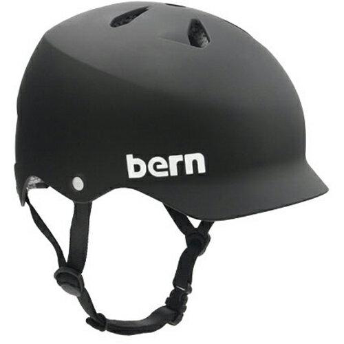 バーン Bern WATTS Matte Black [JAPAN FIT][ヘルメット][自転車][2/25 9:59まで ポイント10倍]