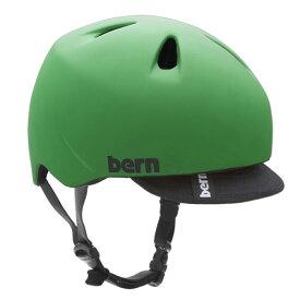 バーン Bern NINO(Visor付) Matte Kelly Green [キッズ][ヘルメット][自転車][子供用]