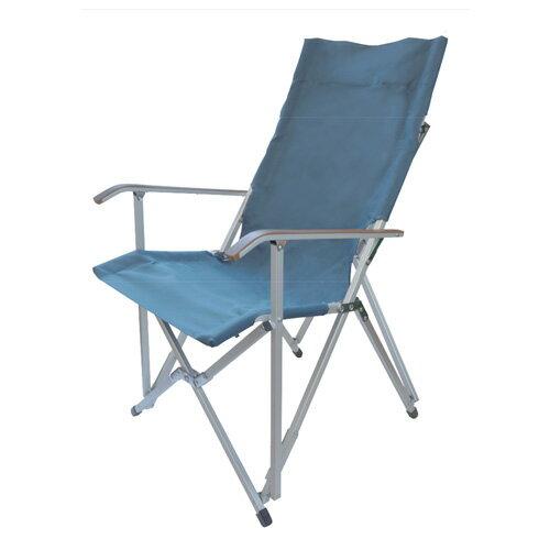 キャンパルジャパン CAMPAL JAPAN ハイバックチェア プルシアンブルー [椅子][コンパクトチェア][アームチェア][11/16 9:59まで ポイント3倍]