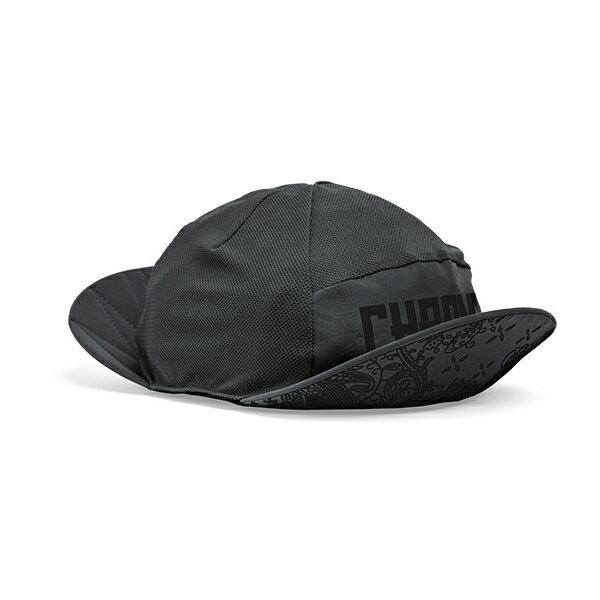 クローム CHROME BIKE MOUNTAIN CAP Black [バイクマウンテンキャップ][ブラック][Cherpa別注][シェルパ][2バイザー][2018年春夏新作][4/27 13:59まで ポイント2倍]