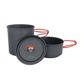 ダグ DUG TEA-II [ティー2][クッカーセット][ソロ用][カップ皿付き][アルミ製][ハードアノダイズド加工]