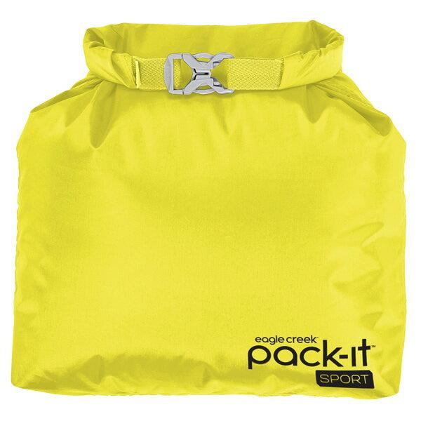 【vic2セール】 イーグルクリーク EagleCreek Pack-It Sports Roll Top Sac StrobeYellow [パックイットスポーツロールトップサック][ケース][ポーチ][トラベル][旅行][小分け]