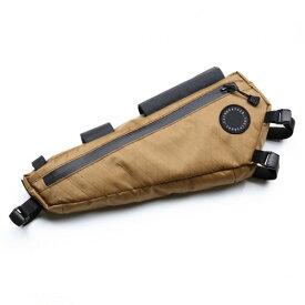 フェアウェザー FAIRWEATHER frame bag HALF x-pac/coyote