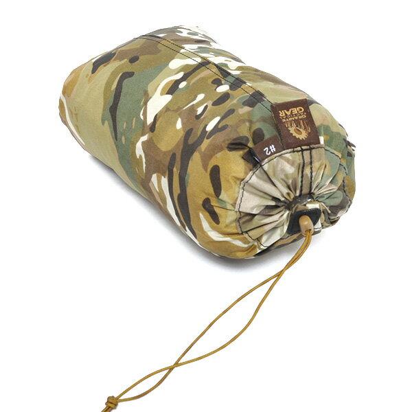 グラナイトギア GRANITE GEAR タクティカルタフサック カモフラージュ1 #2(3L)サイズ [スタッフバッグ][収納袋][収納バッグ][2/26 13:59まで ポイント5倍]