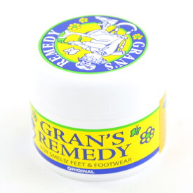 グランズレメディ GRAN'S REMEDY 無香料 50g [消臭剤][抗菌][除菌][パウダー][靴][ブーツ][スニーカー][GRANS REMEDY]