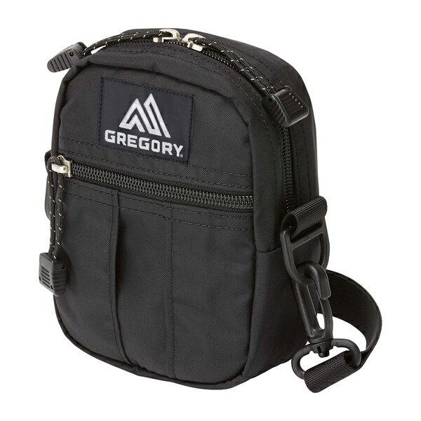 グレゴリー GREGORY Quick Pocket Sサイズ Black [クイックポケット][ポーチ][ショルダーバック][12/14 9:59まで ポイント10倍]