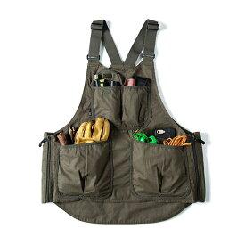 グリップスワニー Grip Swany Fireproof Apron Vest Olive [GSV-04][エプロン][ファイアープルーフ][オリーブ]