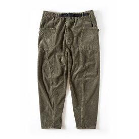 グリップスワニー Grip Swany Jog 3D Corduroy Wide Camp Pants Olive [GSP-63]