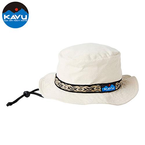 カブー KAVU ストラップバケットハット ナチュラル [ハット][帽子][バケットハット][キャンバスコットン][定番][アメリカ製][5/21 9:59まで ポイント10倍]