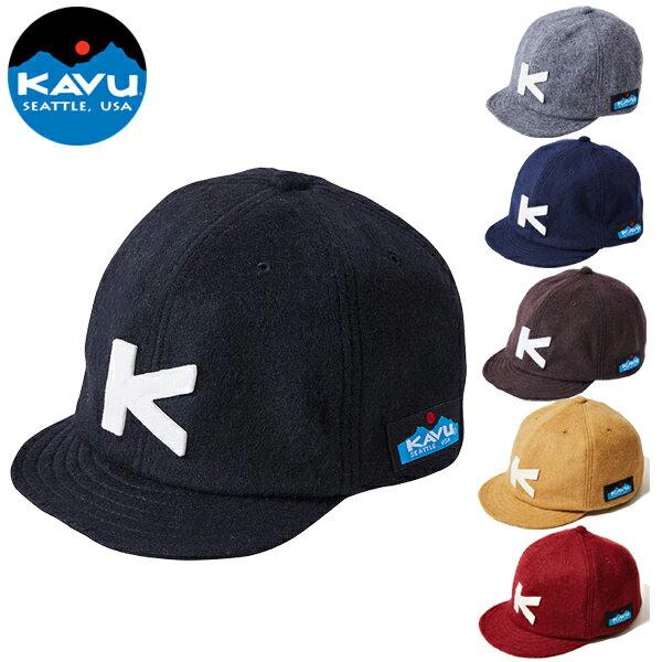 【あす楽対応 平日13:00まで】 カブー KAVU ベースボールキャップ(ウール) [キャップ][帽子][野球帽][カジュアル][5/27 9:59まで ポイント10倍]