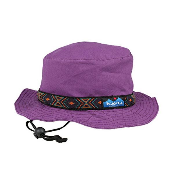 カブー KAVU ストラップバケットハット パープル [帽子][ハット][日除け][キャンバス][コットン][アウトドア][11/16 9:59まで ポイント10倍]