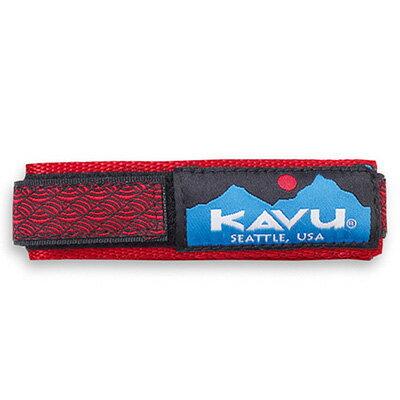 カブー KAVU ウォッチバンド Red Braid [WatchBand][11863003034003][1/24 9:59まで ポイント2倍]