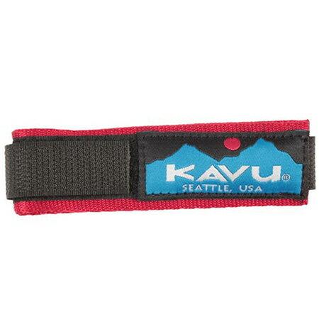 カブー KAVU ウォッチバンドソリッド Red [WatchBandSolid][11863003144003][1/24 9:59まで ポイント2倍]