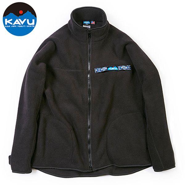 カブー KAVU フリース F/Z スローシャツ ブラック [スローシャツ][ロングスリーブ][フリース][1/21 9:59まで ポイント10倍]