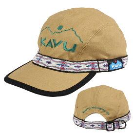 カブー KAVU E.Strap Cap Khaki [ブランド創立25周年記念モデル][A&F取扱いブランドロゴ刺繍][アニバーサリーモデル]