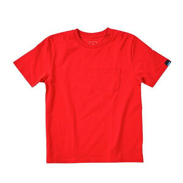 カブー KAVU ポケットTee Red [Tシャツ][レッド][ポケT][5/21 9:59まで ポイント10倍]