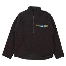 カブー KAVU Freece Throwshirts Black [フリーススローシャツ][ブラック][7/26 9:59まで ポイント10倍]