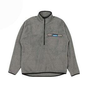 カブー KAVU Freece Throwshirts Charcoal [フリーススローシャツ][チャコール][7/26 9:59まで ポイント10倍]