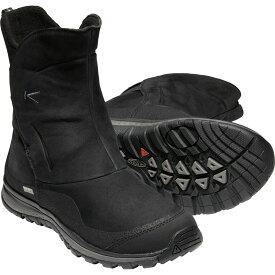 【vic2セール】 キーン KEEN Womens Winterterra Lea Boot WP Black/Raven [ウィンターテラレザーブーツ][スノーブーツ][防水][レディース]