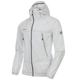 マムート MAMMUT Masao Light HS Hooded Jacket AF Men White (0243) [1010-27100][2019年新作]