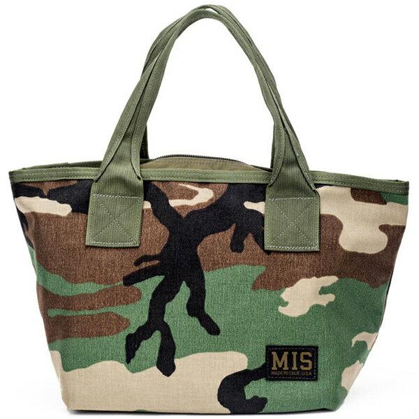 エムアイエス MIS Mini Tote Bag Woodland Camo [ウッドランドカモ]