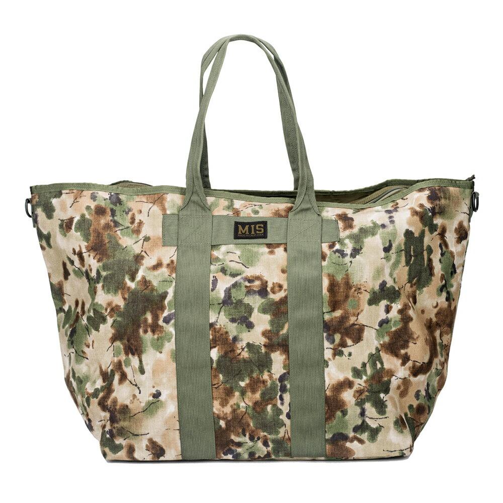 エムアイエス MIS Super Tote Bag Covert Woodland [コバートウッドランド]