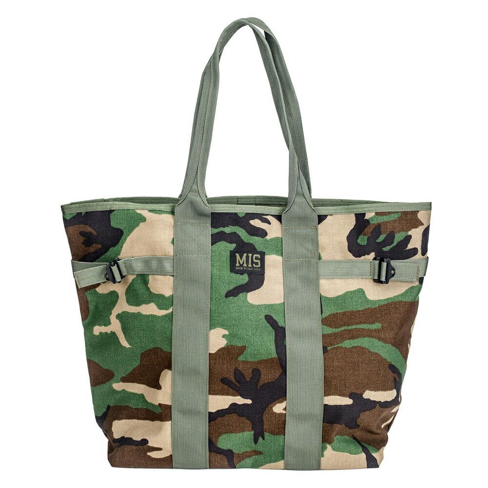 エムアイエス MIS Multi Tote Bag Woodland Camo [ウッドランドカモ]